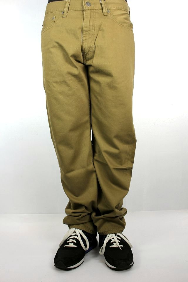LEVI'S / 505 TWILL PANTS / light brown