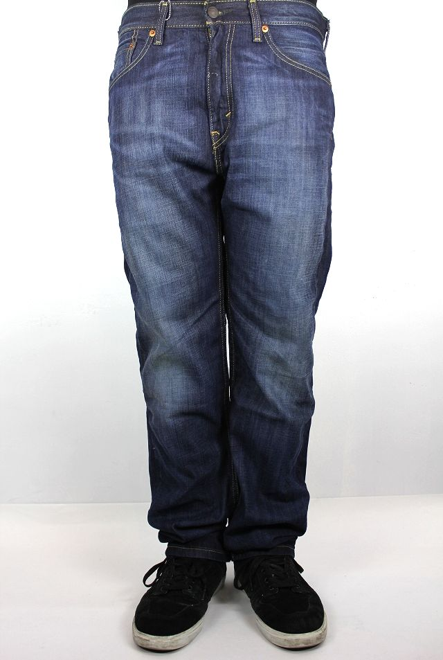 LEVI'S / 505 DENIM PANTS / vintage wash indigo-04