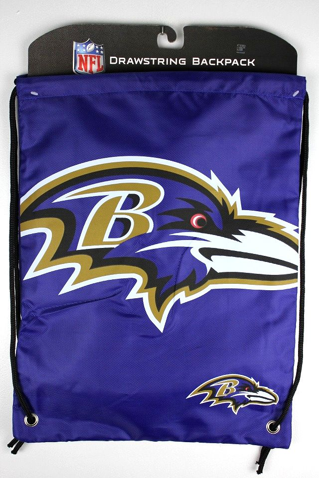 "NFL OFFICIAL / ""BALTIMORE RAVENS"" KNAPSACK"