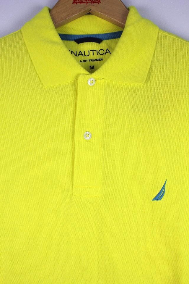 NAUTICA / SLIMFIT LOGO POLO SHIRTS / yellow