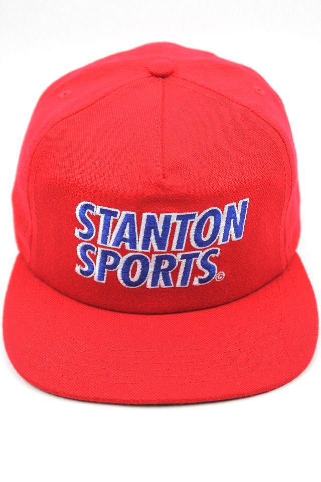 "ONLY NEWYORK / ""STANTON SPORTS"" SNAPBACK CAP / red"