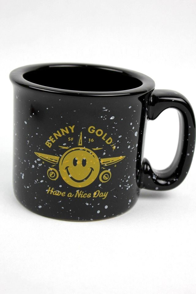 "BENNY GOLD / ""NICE DAY"" MUG / black"