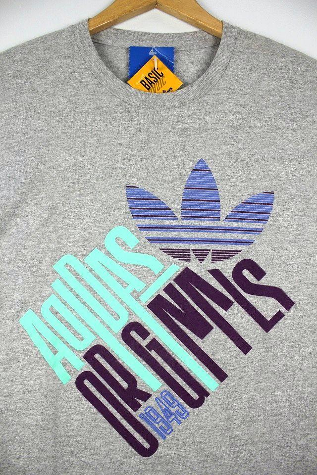 """adidas ORIGINALS / """"TILTED"""" Tee / heather grey"""