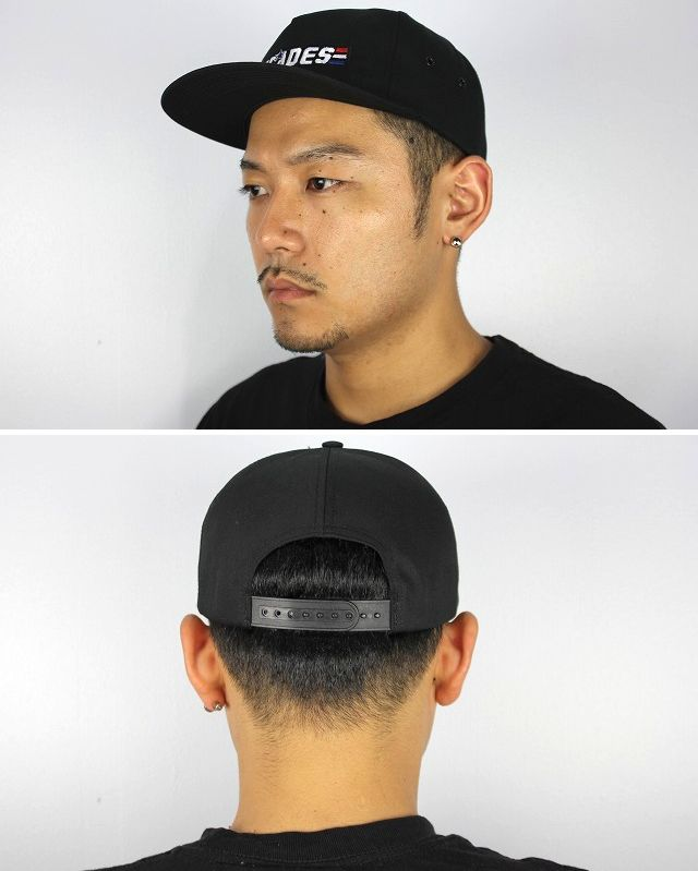 "THE DECADES×G.I.JOE / ""G.I.JOE LOGO"" SNAPBACK CAP / black"
