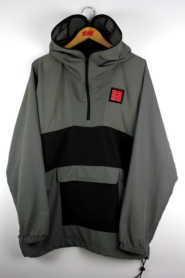 "THE DECADES×G.I.JOE / ""SNAKE EYES"" ANORAK / wolf grey×black"