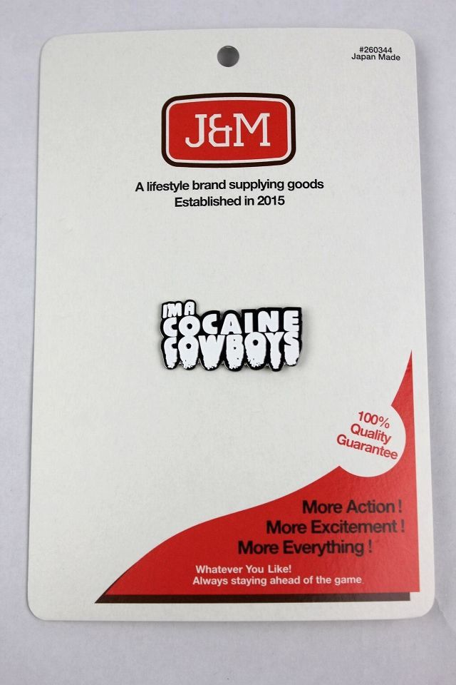 "J&M / ""COKE COWBOYS"" PIN"