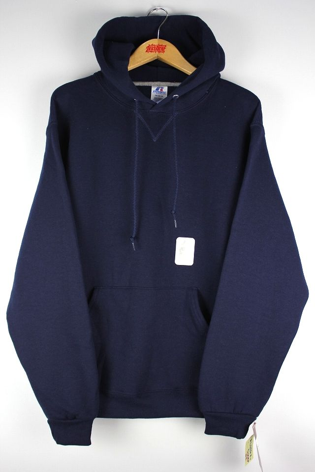 RUSSEL ATHLETIC / PULLOVER HOODY / navy