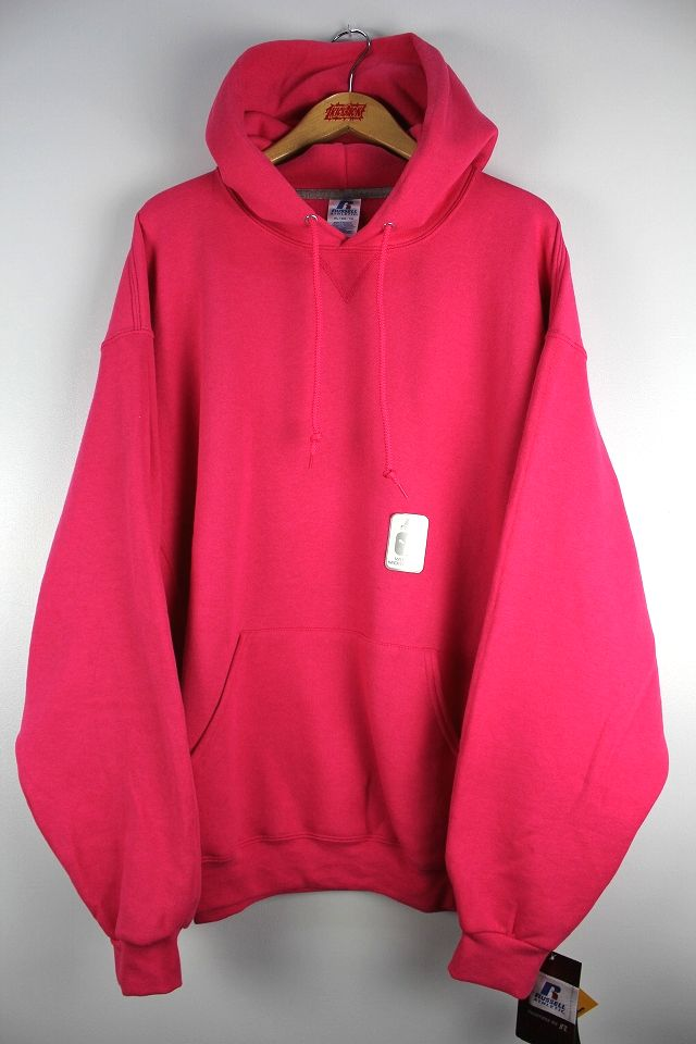 RUSSEL / PULLOVER HOODY / pink