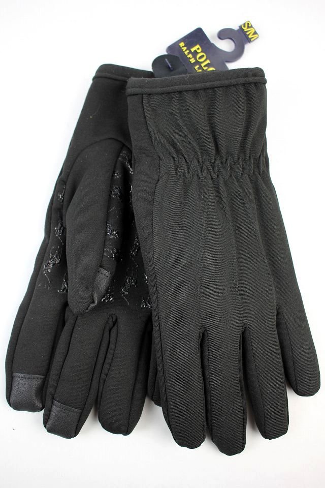 POLO RALPH LAUREN / TEXTING GLOVES / black