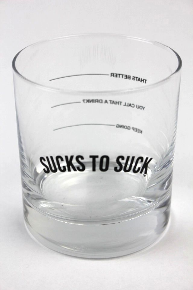 "CLSC LIFE / ""PROOF"" WHISKEY GLASS"