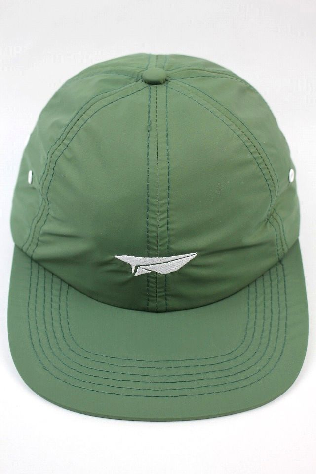 "BENNY GOLD / ""PAPER PLANE"" NYLON 6PANEL CAP / moss green"