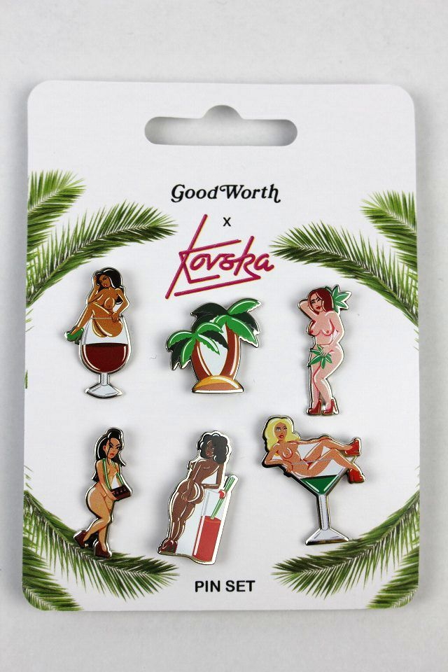 "GOOD WORTH&CO. × KOVSKA / ""MARY JANE"" PINSET"