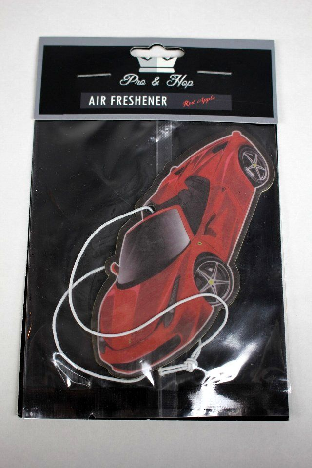 "PRO&HOP / ""FERRARI RED"" AIR FRESHNER"