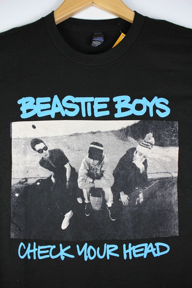 "BEASTIE BOYS / ""CHECK YOUR HEAD"" Tee / black"