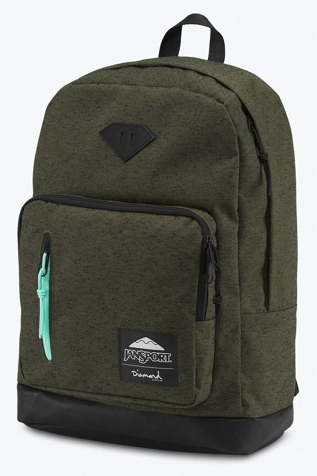JANSPORT×DIAMOND SUPPLY CO. / AXIOM / olive×black