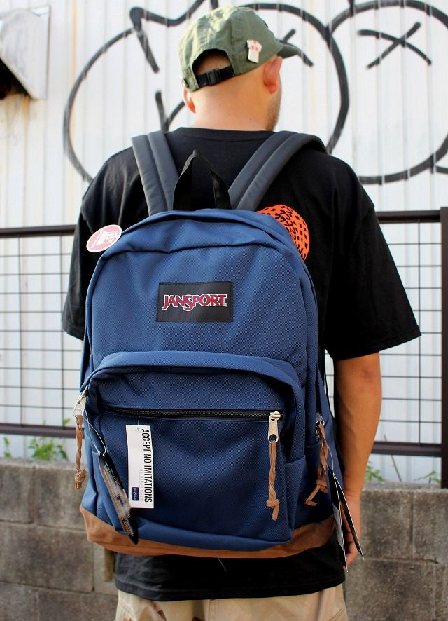 JANSPORT / RIGHT PACK / navy