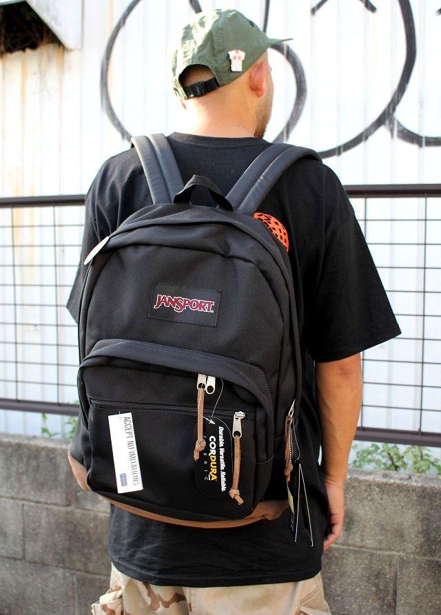 JANSPORT / RIGHT PACK / black