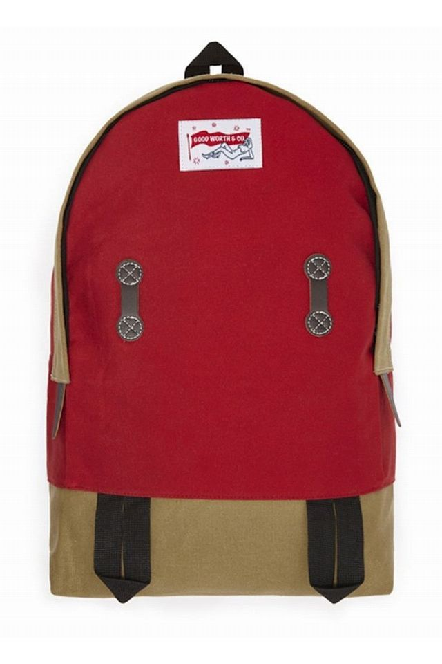"GOOD WORTH&CO. / ""JANE FONDLE"" BACKPACK / red"