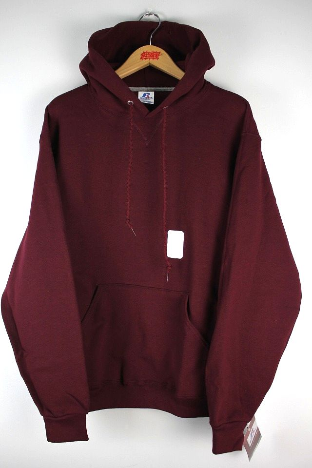 RUSSEL ATHLETIC / PULLOVER HOODY / burgundy