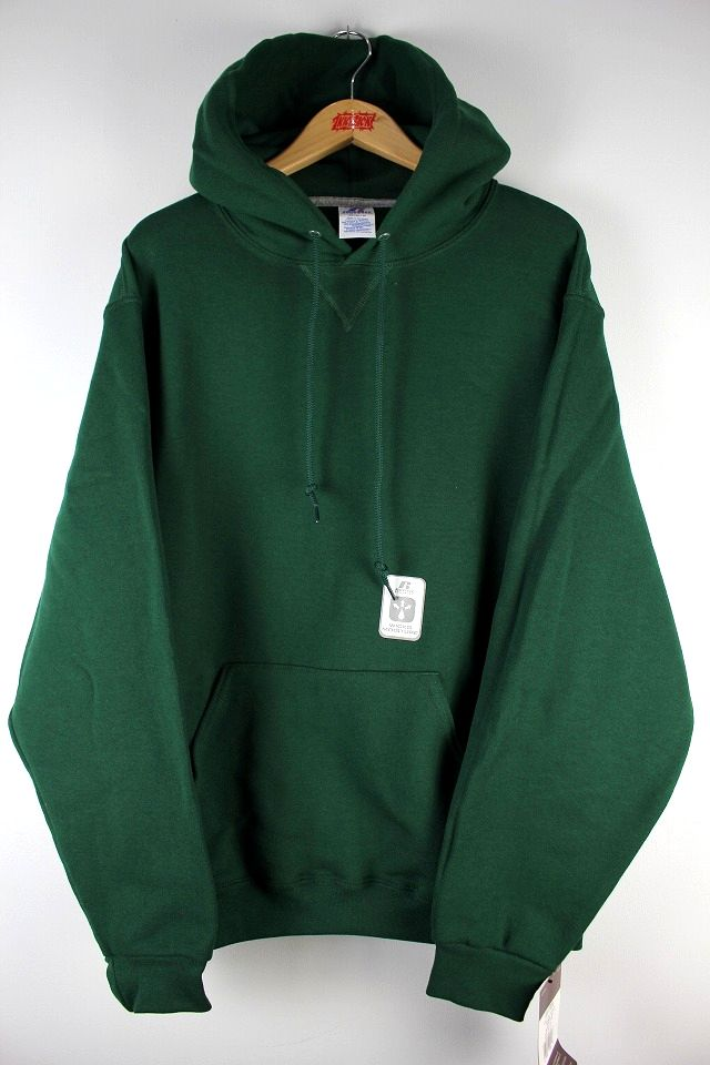 RUSSEL ATHLETIC / PULLOVER HOODY / green