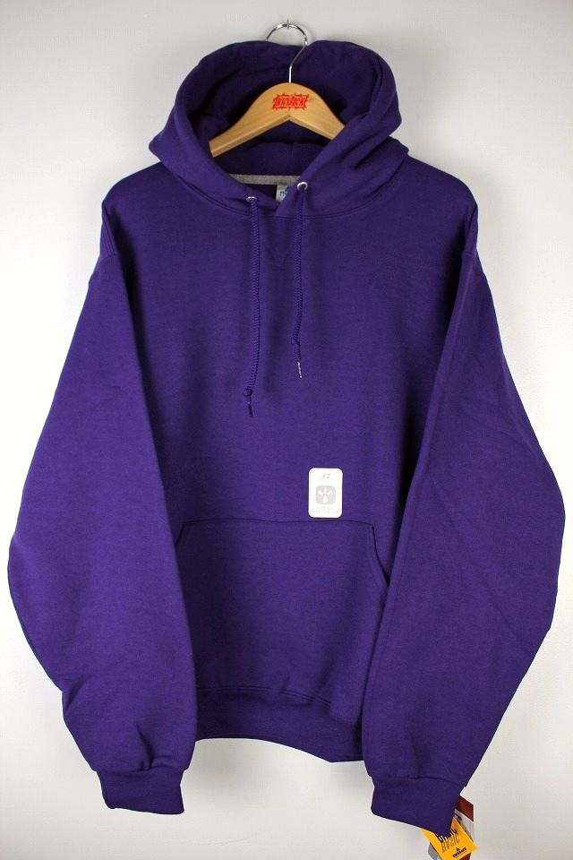 RUSSEL ATHLETIC / PULLOVER HOODY / purple