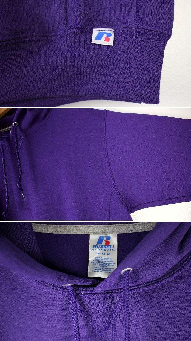 RUSSEL ATHLETIC / PULLOVER HOODY / purple