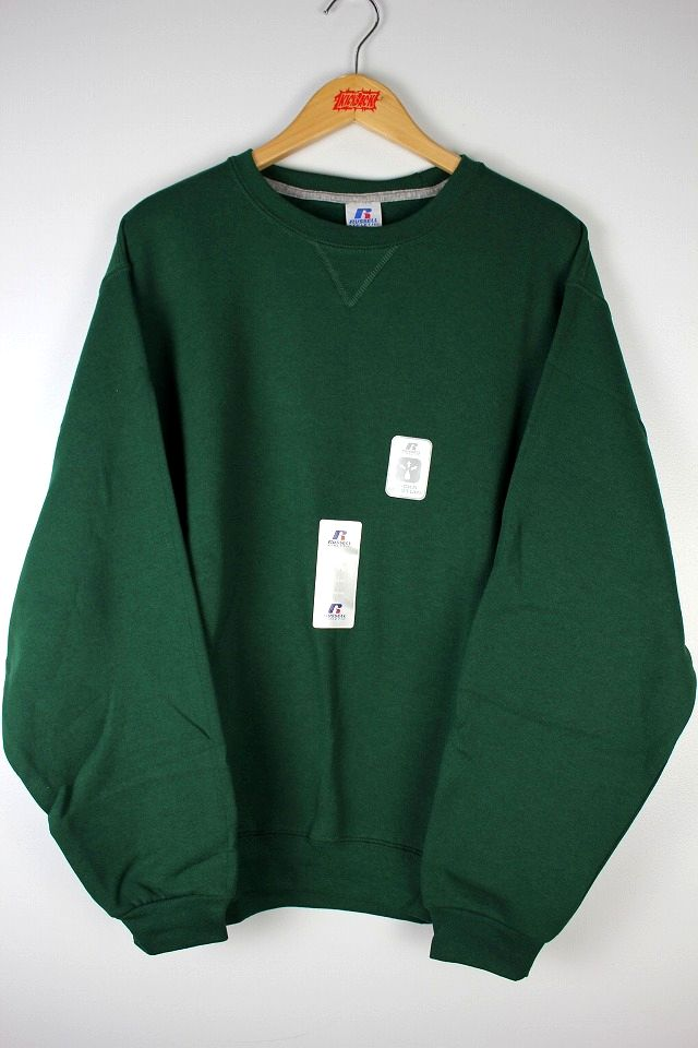 RUSSEL ATHLETIC / CREWNECK SWEAT / green