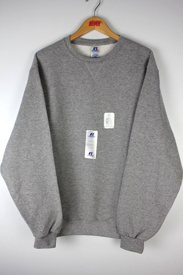 RUSSEL ATHLETIC / CREWNECK SWEAT / heather grey