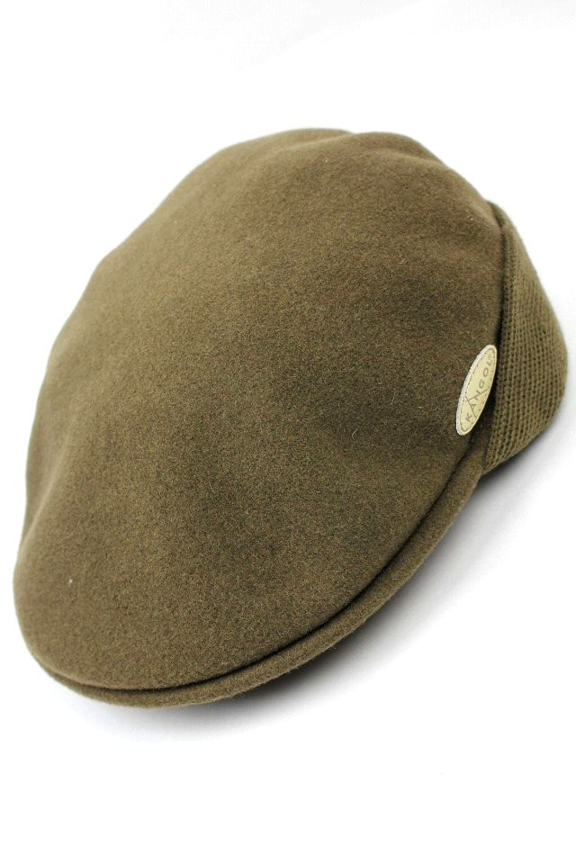 KANGOL / WOOL 504 EARLAP / marron brown