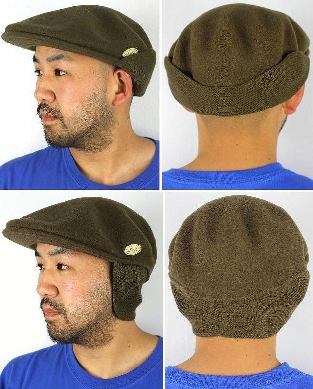 KANGOL / WOOL 504 EARLAP / marron brown