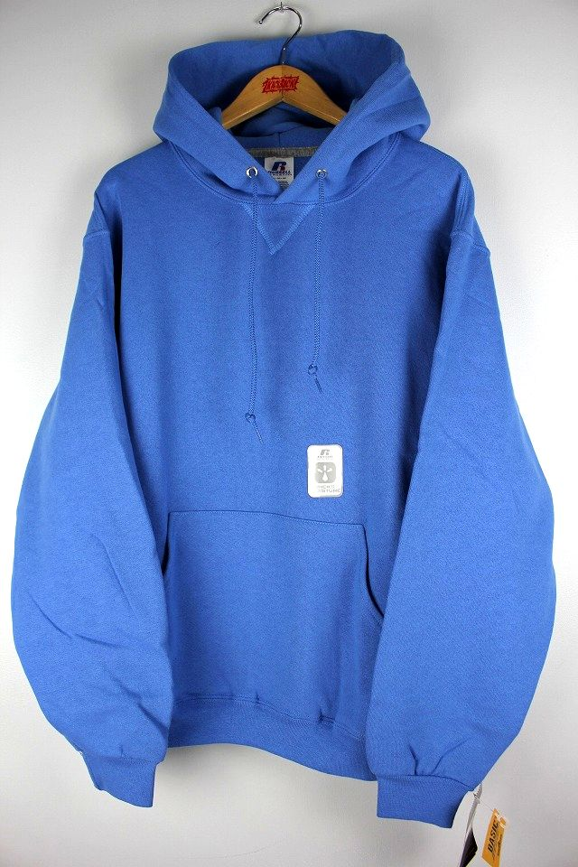 RUSSEL ATHLETIC / PULLOVER HOODY / light blue