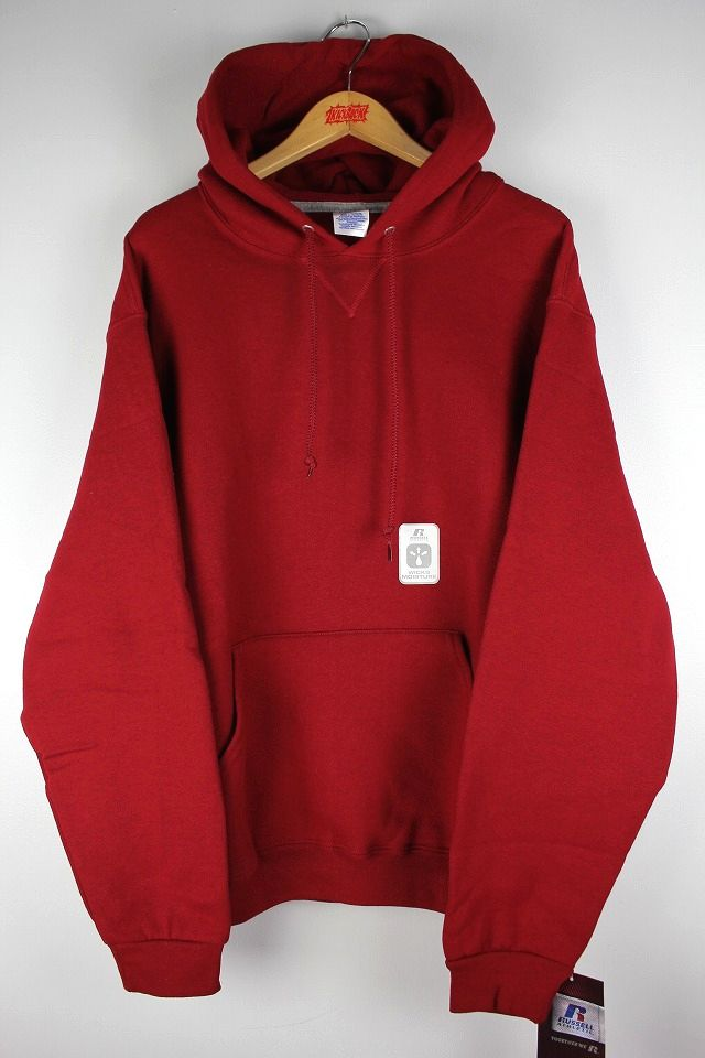 RUSSEL ATHLETIC / PULLOVER HOODY / cardinal red