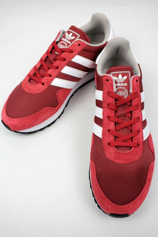 adidas ORIGINALS / HAVEN / dark red×white
