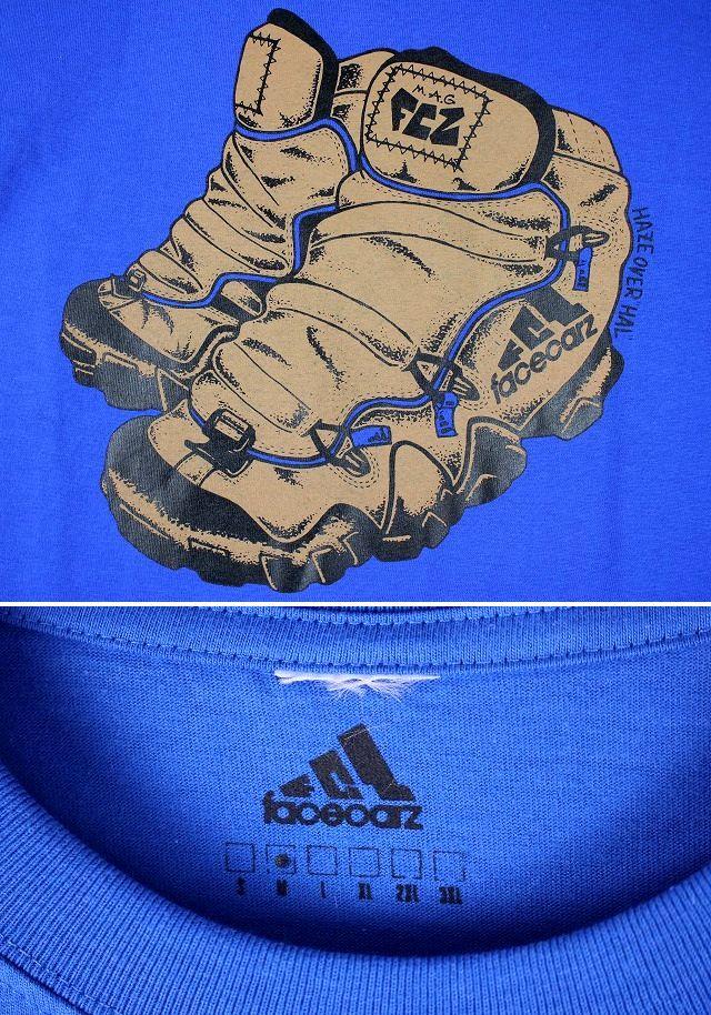 "FACECARZ / ""FCZ LANDER"" Tee / blue"