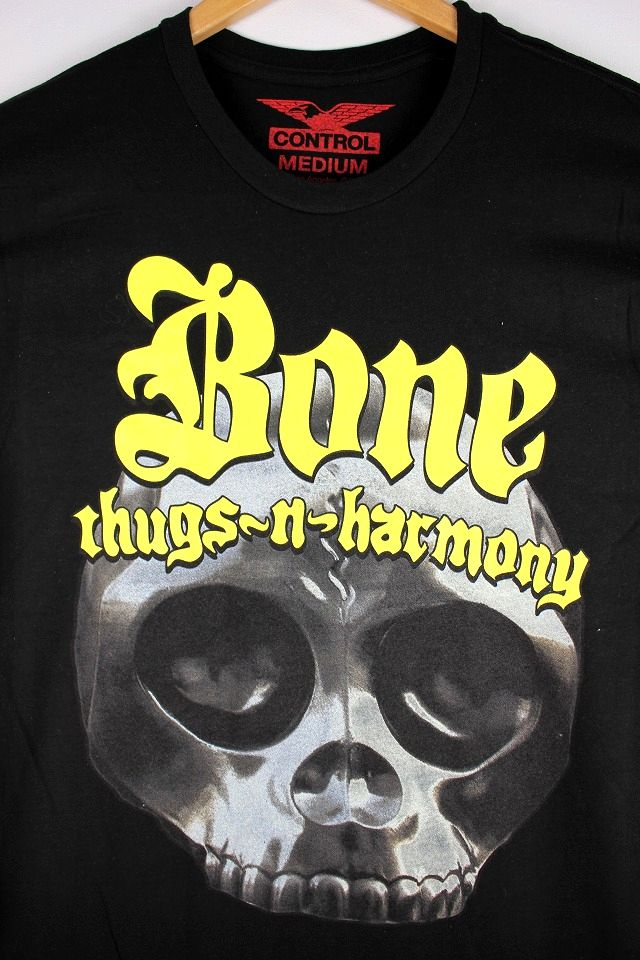 "BONE THUGS-N-HARMONY / ""THUGGISH RUGGISH"" Tee / black"