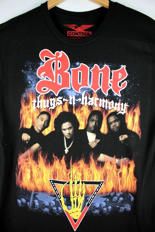"BONE THUGS-N-HARMONY / ""LOOK INTO MY EYES"" Tee / black"