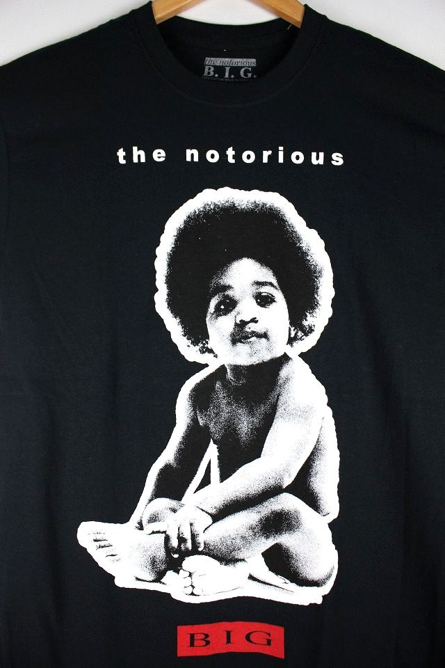 notorious b i g big baby tee black 商品詳細 アメリカ直輸入の