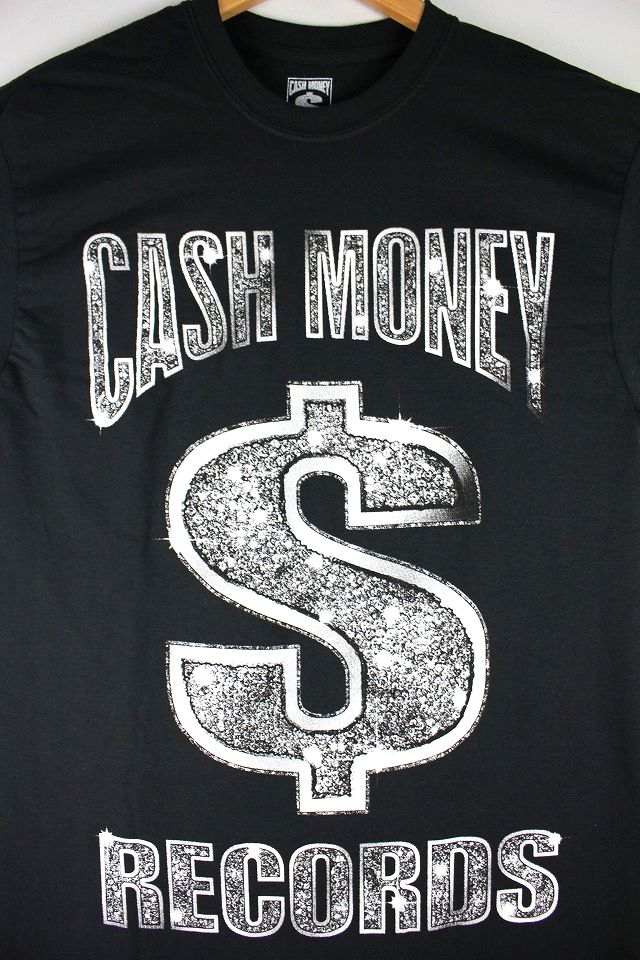 "CASH MONEY RECORDS / ""BLING"" Tee / black"