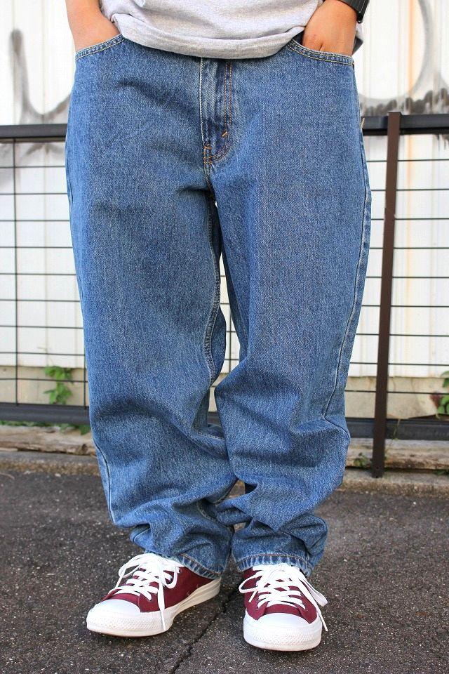 LEVI'S / 560 DENIM PANTS / stone wash indigo