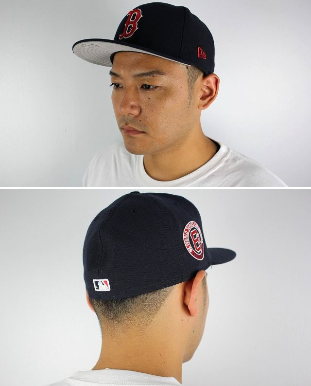 "NEWERA / ""BOSTON RED SOX -8X-"" FITTED CAP / navy"