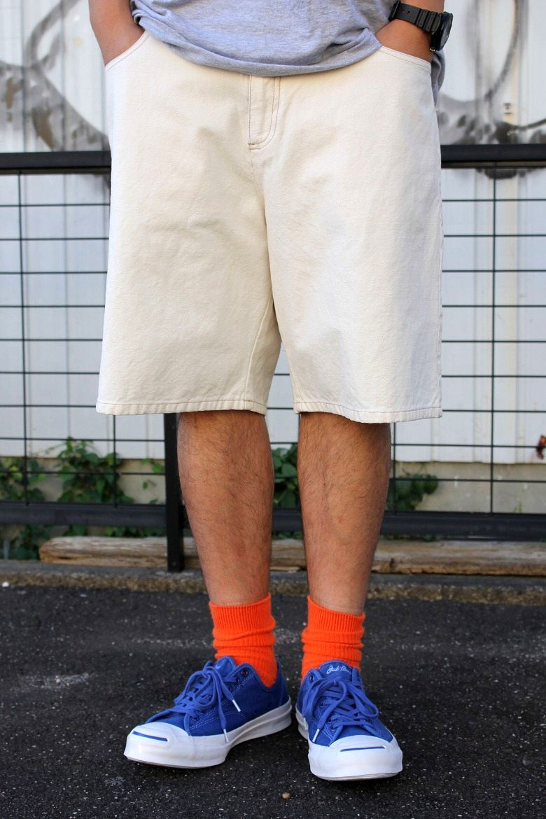 USED!!! TRIPLE FIVE SOUL / HEMP SHORTS (90'S) / off white