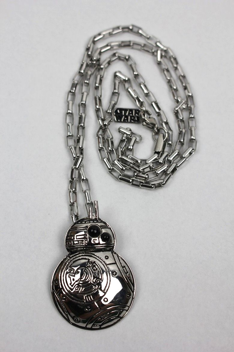 "HAN CHOLO×STAR WARS / ""BB-8"" NECKLACE / silver"