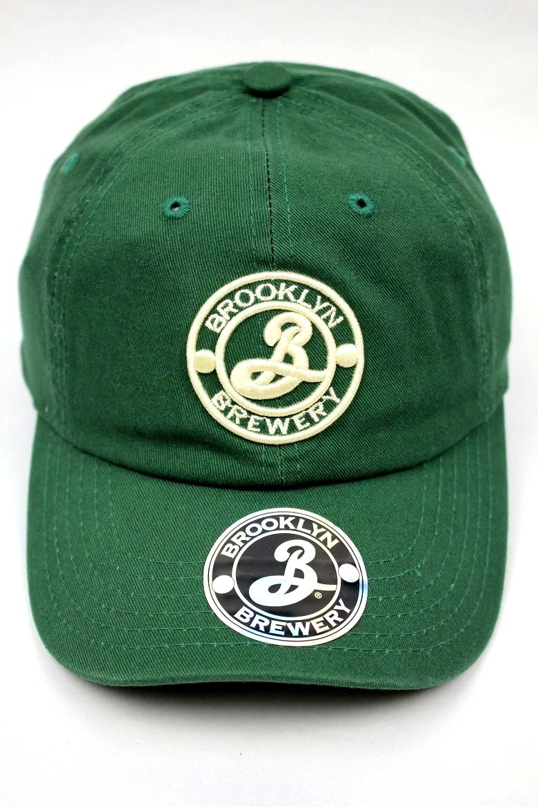 BROOKLYN BREWERY / LOGO STRAPBACK CAP / green