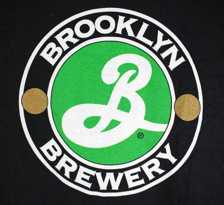 BROOKLYN BREWERY / LOGO Tee / black