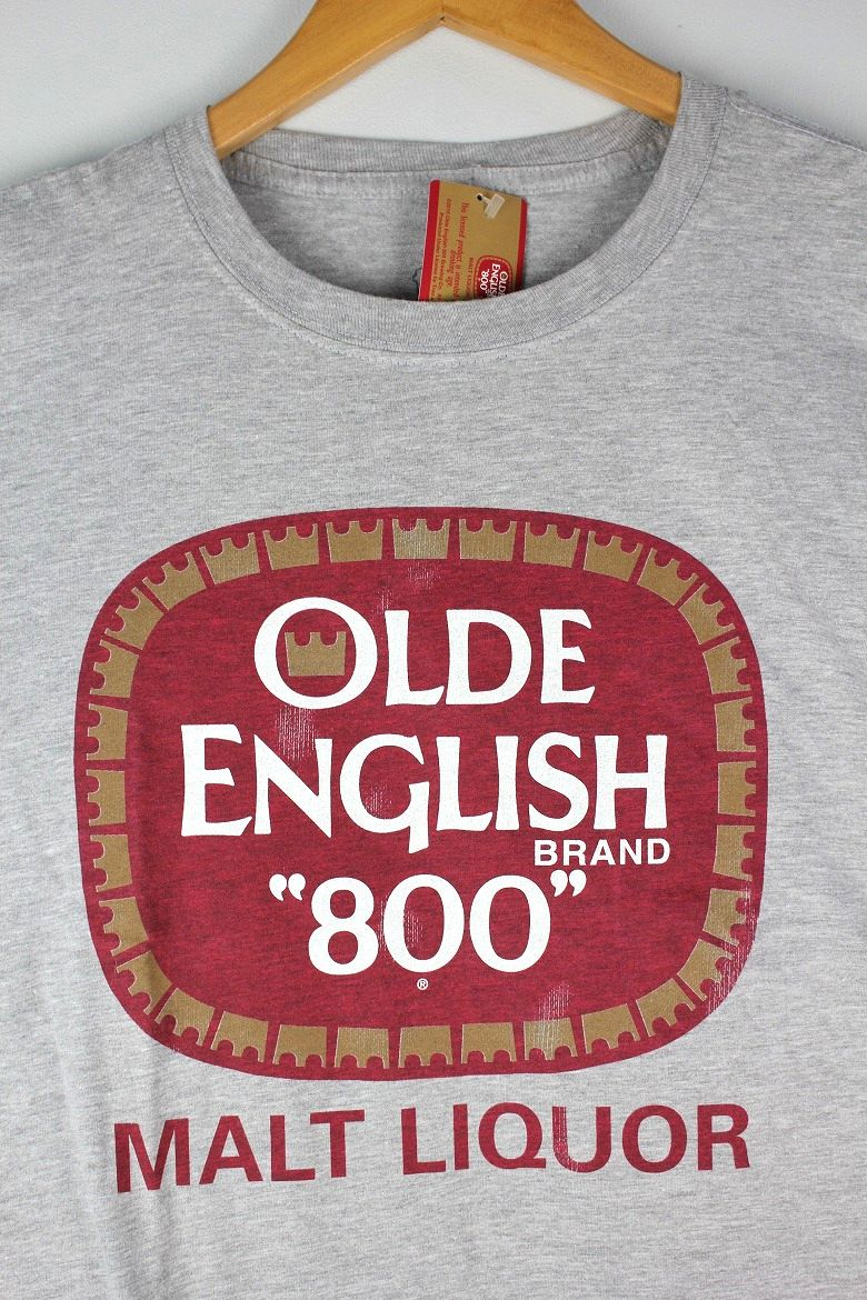 OLDE ENGLISH / LOGO Tee / heather grey