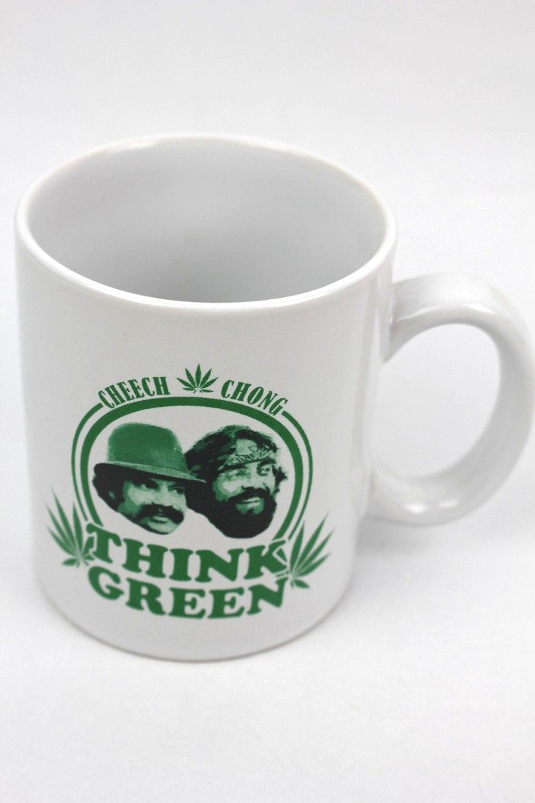 "CHEECH & CHONG / ""THINK GREEN"" MUG"