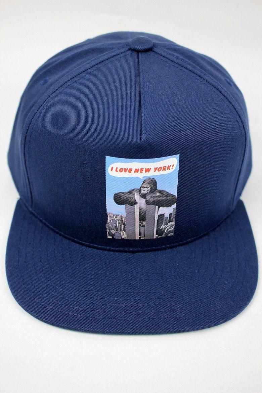 """ACAPULCO GOLD / """"I LOVE NY"""" SNAPBACK CAP / navy"""