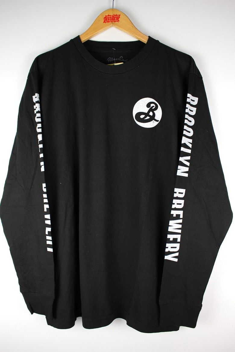 BROOKLYN BREWERY / LS Tee / black