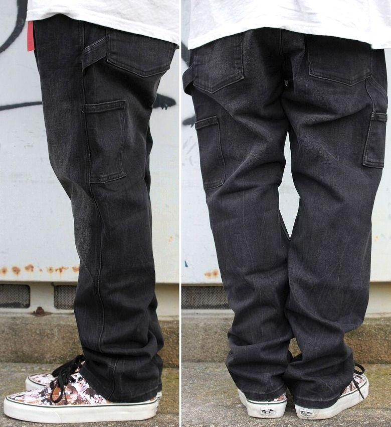 LEVI'S / SLIM CARPENTER DENIM PANTS / black