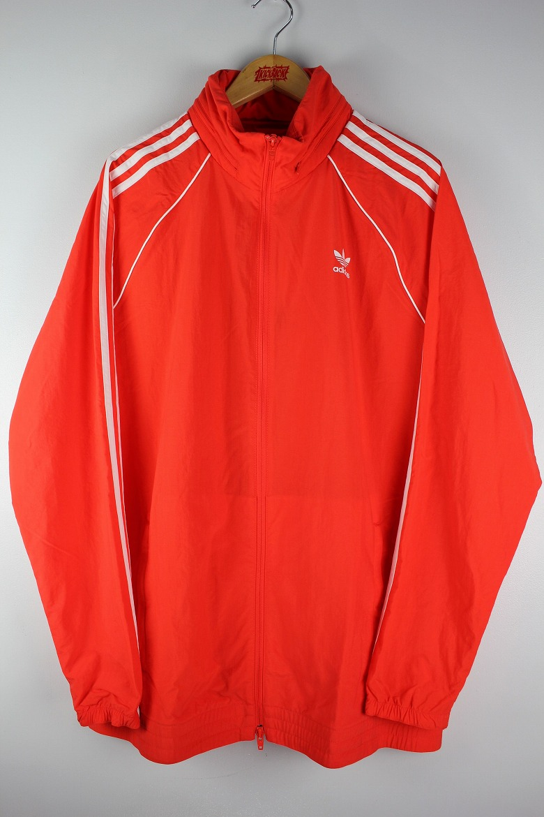 "adidas ORIGINALS / ""SST"" WINDBREAKER JACKET / orange×white"